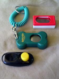Verschillende soorten clickers