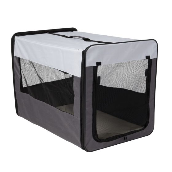 Adori Soft Transport-Bench Easy Grijs&Zwart 107x76x91 cm