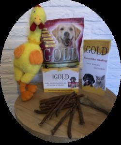 Proefpakket gratis nerogold hond